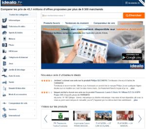 vendre sur idealo.fr