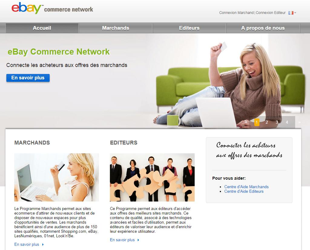 vendre sur eBay Commerce Network FR
