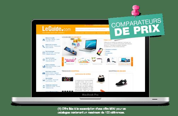 referencement produits comparateurs de prix
